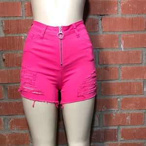 Worth The Wait Pink Shorts